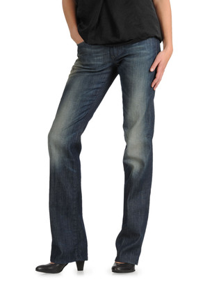 Ronhary straight-leg Diesel jeans with worn wash