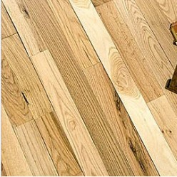 If you are looking to cut costs, purchasing unfinished wood may be a solution.  The only problem is that you will have to put in more work once you lay the floors.  Still, this is a cheap solution to having hardwood floors in your home.