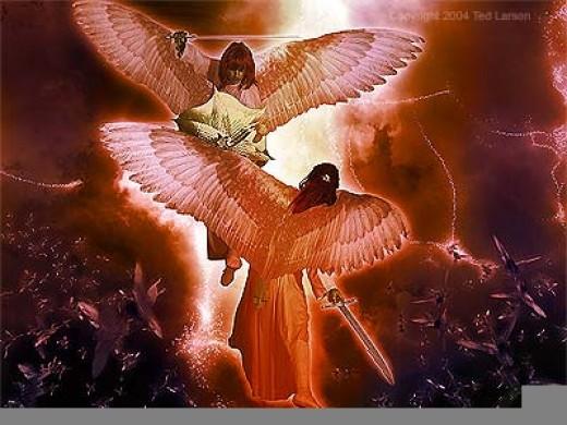 Michael vs Lucifer