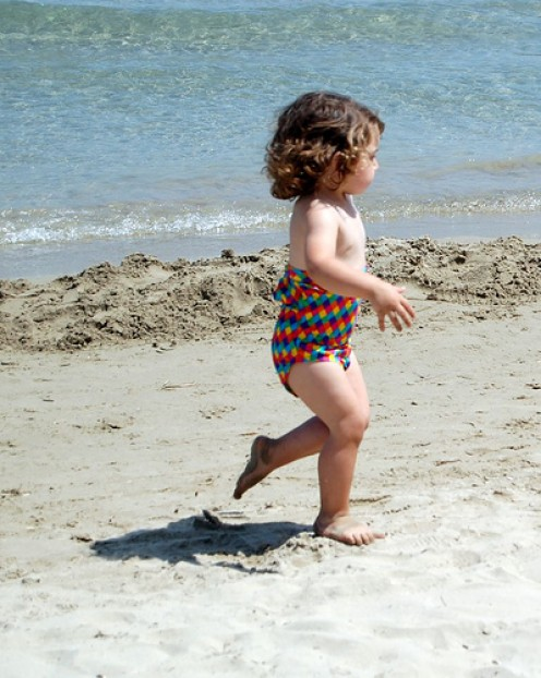 Beach vacation with toddler