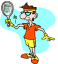 You don't have to play tennis to get tennis elbow.