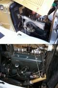 Engine compartment.