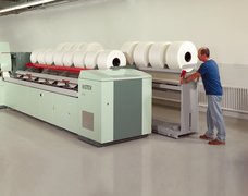 Comber Machine for cotton yarns.