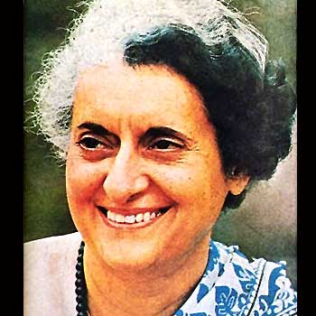 Iron Lady of India.