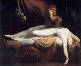 Nightmare by Henri Fuseli