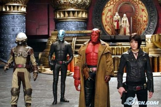 Scene from Hellboy II: The Golden Army