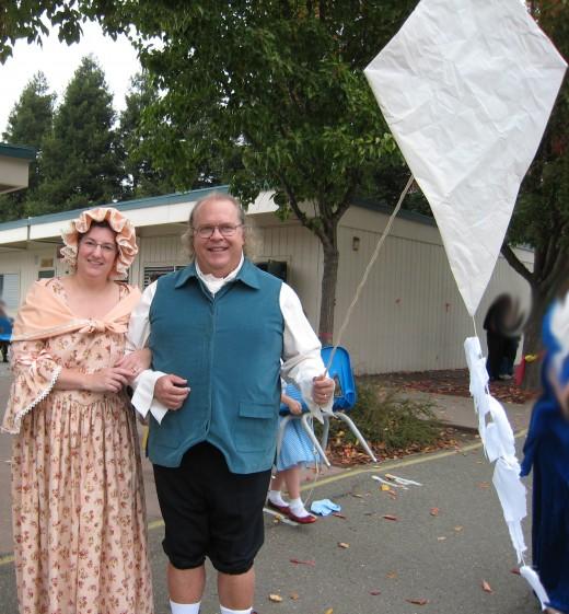 Mr. and Mrs. Ben Franklin