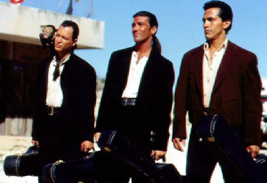 El Mariachi and his kick-ass buddies...