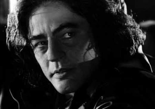 Benicio Del Toro, brilliant actor...