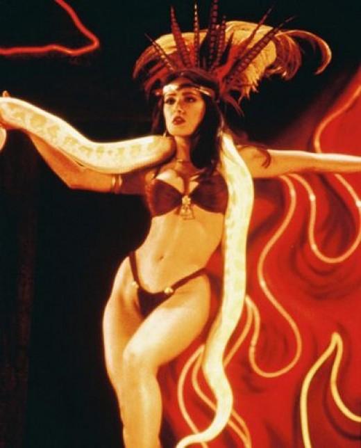 Satanino Pandemonium played by Salma Hayek