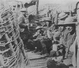 First world war trench mess
