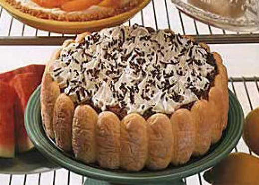 Ladyfinger Chocolate Cake pastrywiz.com