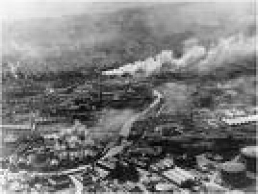 Hull during the Blitz