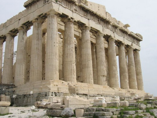The architecture and sculpture of parthenon hubpages