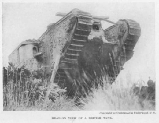 World War 1 tank 1