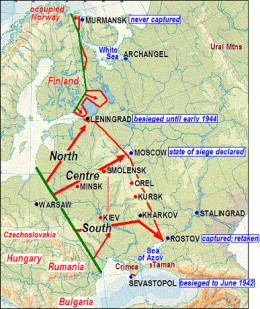 Withdrawal of Russia from the Eastern Front