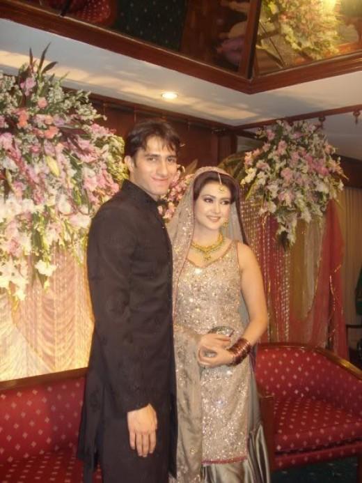 Emaad Irfani with Wife