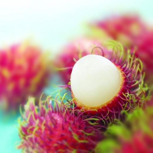 Rambutan Fruit ripe