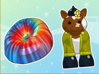 The Pinto Horse figurine and the tie dye chair it unlocks are just an example of the wonderful prizes in store!