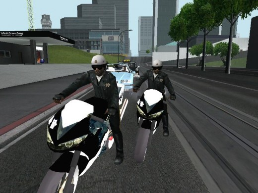 Police on my tail