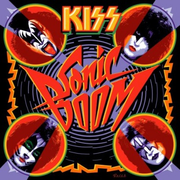 THE NEW KISS CD - SONIC BOOM