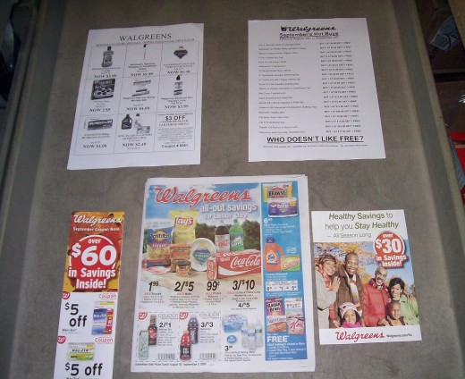 The many ads of Walgreens