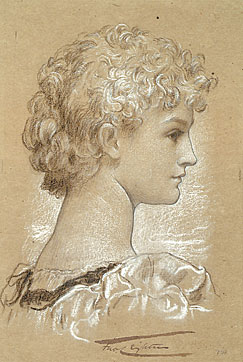 Portrait of Dorothy Dene by Leighton