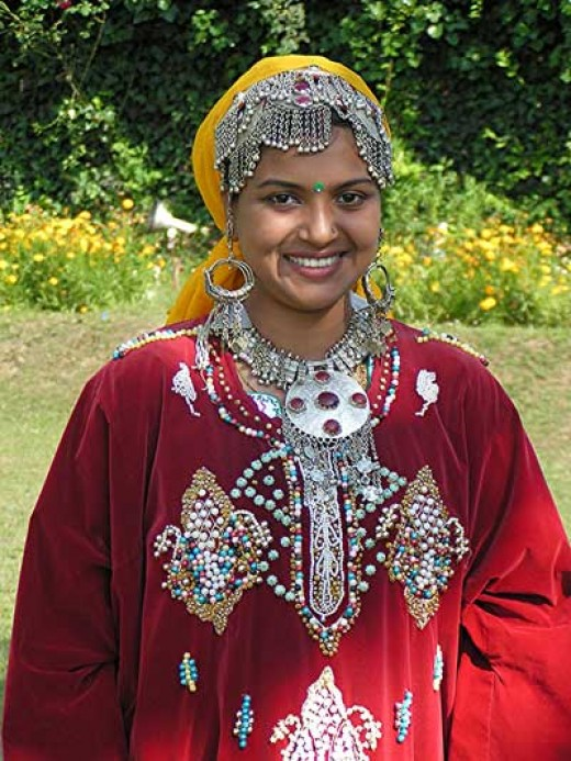 Visiting Incredible India - Kashmiri girl