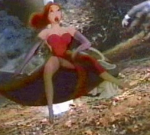 Jessica Rabbit Wardrobe Malfunction?