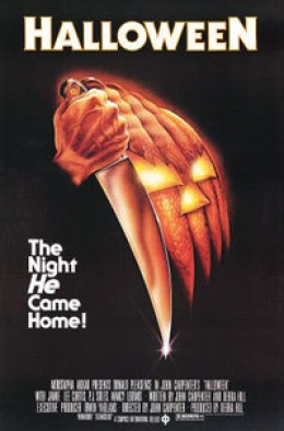"""""""Halloween"""" promotional poster"""
