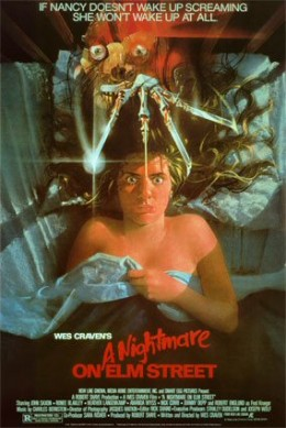 """""""A Nightmare on Elm Street"""" promotional poster"""