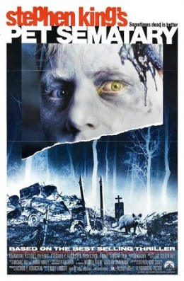 """""""Pet Sematary"""" promotional poster"""