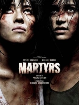 """""""Martyrs"""" promotional poster"""