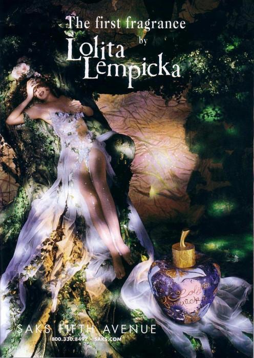 Original Lolita Lempicka Ad