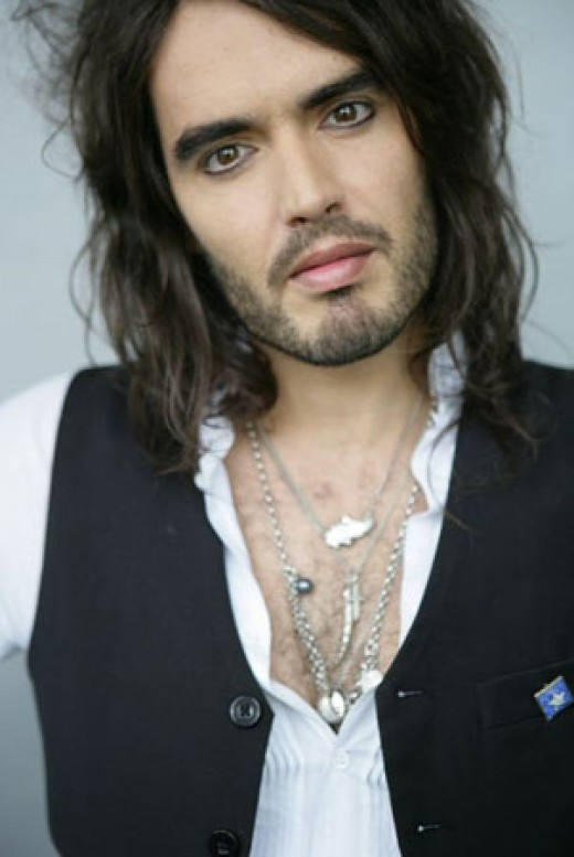 If you don't know who Russel Brand is, YouTube him immediately. Hilarity will ensue.