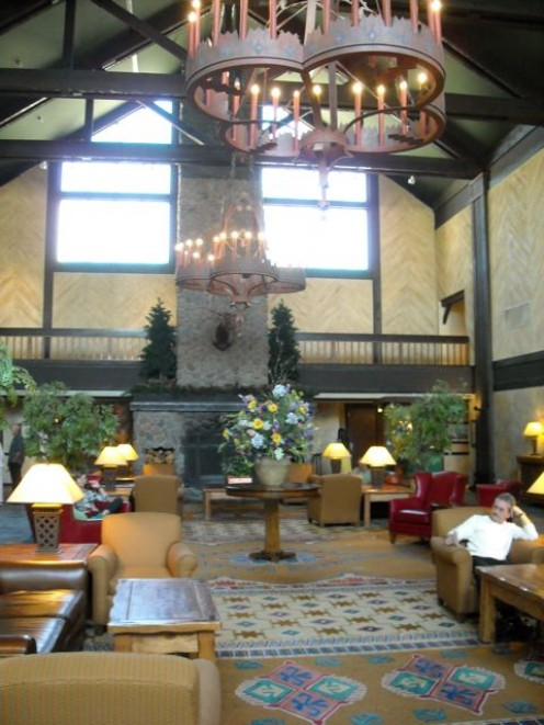 A comfortable lobby is a great place to relax and leads to dining, meeting areas and other guest services
