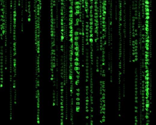 (The Matrix - courtesy Wikimedia Commons).