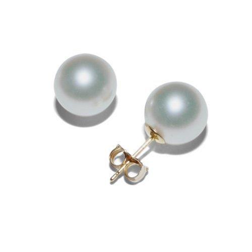 South sea pearl stud earrings
