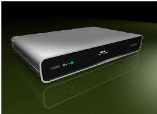 Digital TV converter box