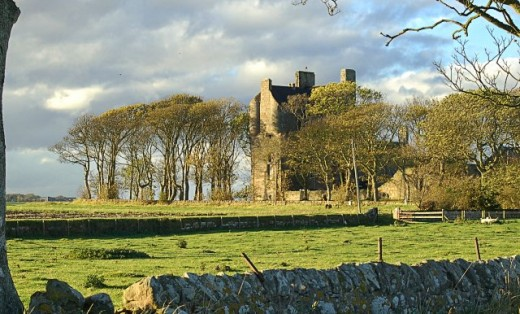 Balcomie castle fife