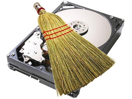 Clean your Hard drive