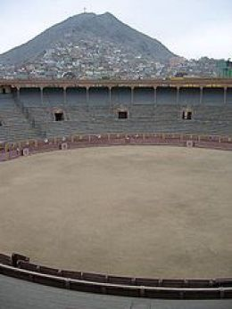 Plaza de Acho bullring in Rimac, Lima