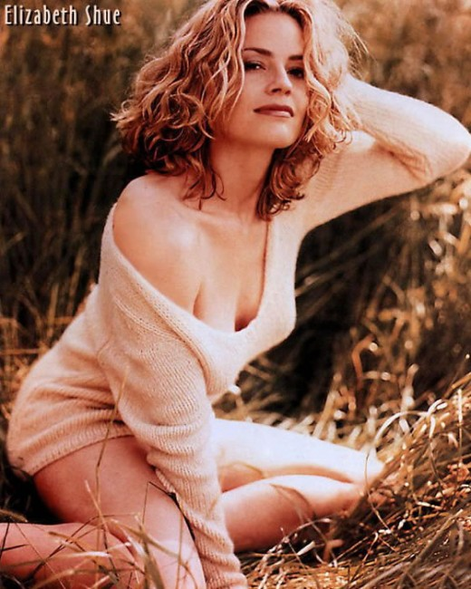 Elisabeth Shue...people are always confusing me for her...really... I mean it.