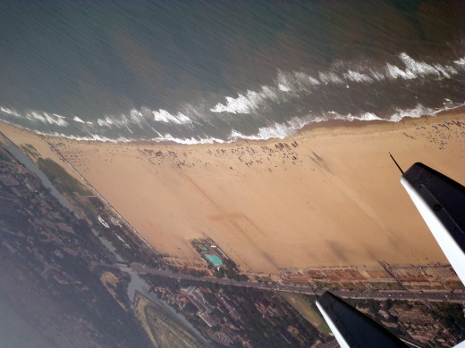 Marina Beach at Chennai