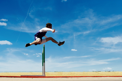 Over Hurdles to Achieve Goals