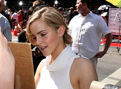 Emma Watson at the Harry Potter and the Order of the Phoenix movie premiere in the USA