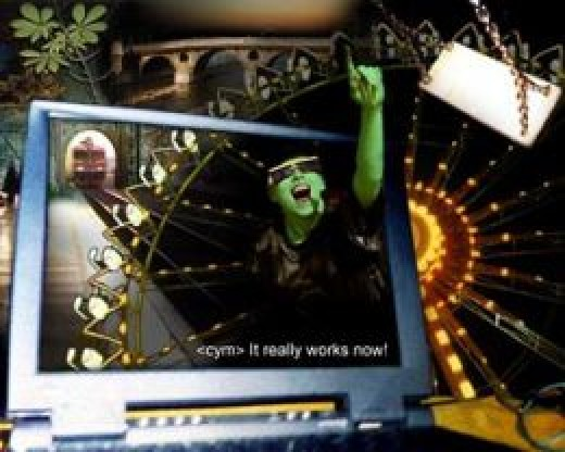 'It really works now!' - Cym in 1999