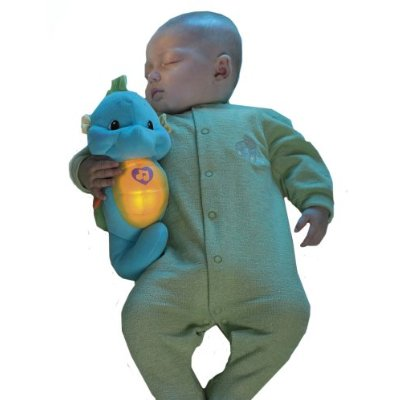 A glow worm toy is perfect for your baby