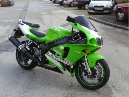 The Kawasaki ZXR 750 Ninja. Just the name suggests foolishness and anyway, who wants a lime green bike?