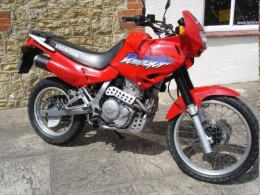 The Honda 650 Dominator. Off-roading is not for me and anyway, what's with that silly bikini fairing?